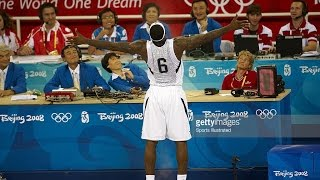 China vs USA 2008 Beijing Olympics Men's Basketball Group Match FULL GAME HD