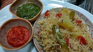 Is garami k mausam m banae tasty easy or instant pulao/white veg pulao recipe