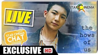 [LIVE] Star Cinema Chat with Darren Espanto | The Hows of Us