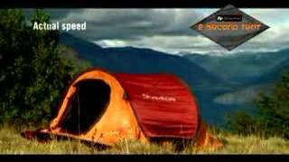 AMAZING Tent Assembles in 2 Seconds!!!