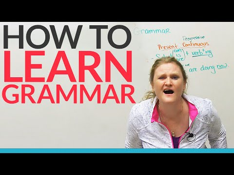 How to learn grammar – any