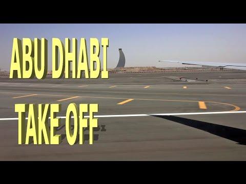 Take Off from Abu Dhabi - 2016 4K