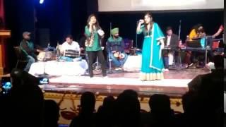 performing tum ko piya dil diya -duet