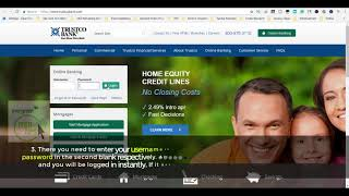 Trustco Bank Login And Reset Steps | Online Bank Login Sign In