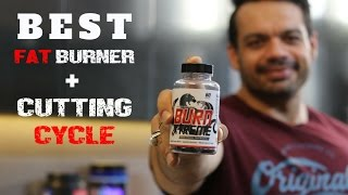 BEST FAT BURNER + MY CUTTING CYCLE AND STACK FOR FATLOSS