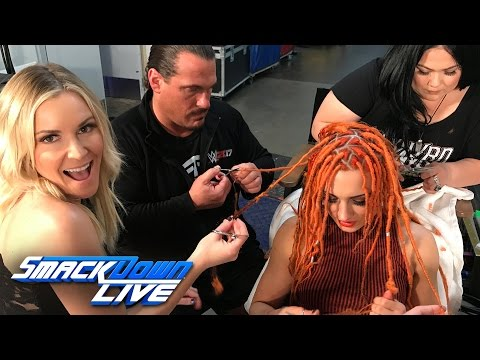 Renee Young is very worried about the Superstar Shake-up: Exclusive, April 4, 2017