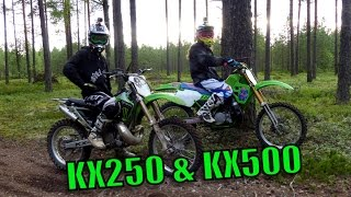 Kawasaki KX250 & KX500 2-Stroke Ride Day