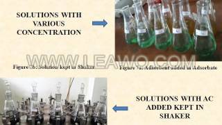 REMOVAL OF HEAVY METALS FROM WASTE WATER BY ADSORPTION USING CARICA PAPAYA SEEDS   BATCH   28