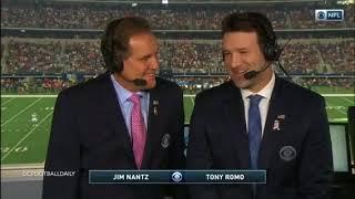 Tony Romo Returns Home Week 9 Kansas City Chiefs at Dallas Cowboys