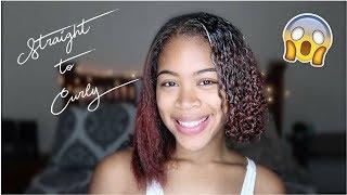 Watch My Curls Revert! How I Avoid Heat Damage