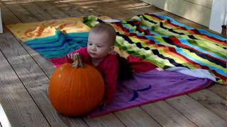 Lila Crawls - 7 months