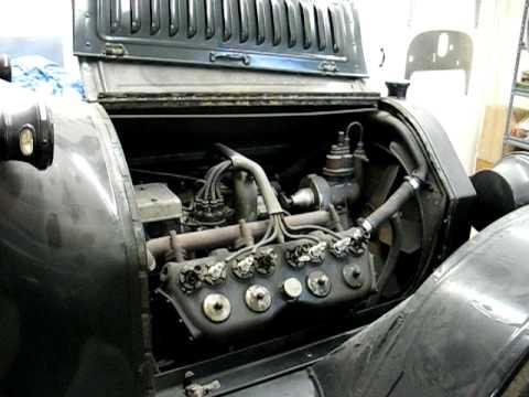 1915 Cadillac Starting