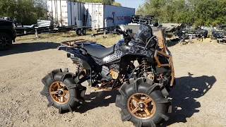 The prairie recreation build done by extreme atv offroad lifted can am renegade