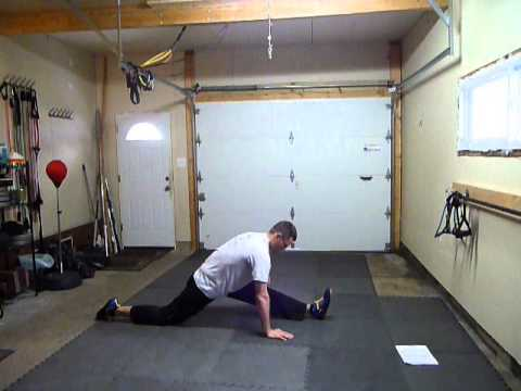 Dynamic Martial Arts stretches