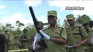 POLISI WAUA WNGINE 13 TANGIBOVU, KIBITI - WAKUTA BUNDUKI 8, PIKIPIKI 2 NA BEGI LA NGUO