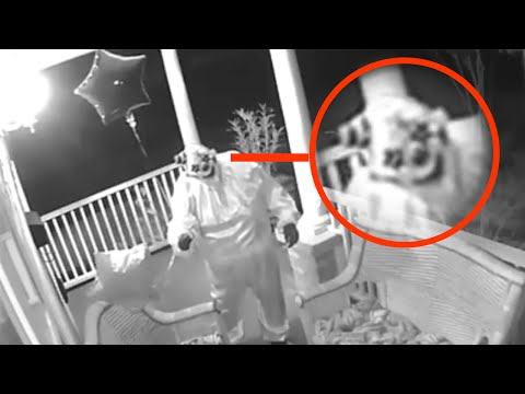 Top 15 Scariest Things Caught On Surveillance Footage