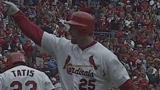 CHC@STL: McGwire hits solo shot to center for No. 65