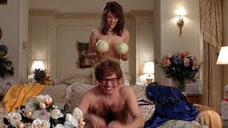 Austin Powers International Man Of Mystery: The fruit basket.