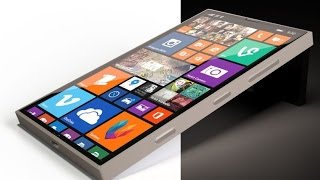 Microsoft Lumia Spruce with 4k Display New Concept 2016