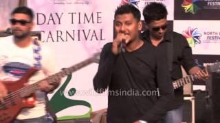 Band Chakrabhuya from Tripura at Northeast Festival, Delhi