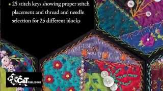 Foolproof Crazy Quilting by Jennifer Clouston