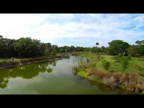 Cocoa Beach s Secret Park by Drone Aerial Video