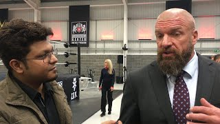 India will definitely have a WWE Performance Centre in the future: Triple H