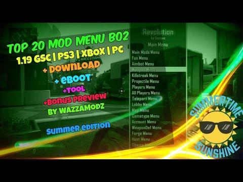 ☆ᴺᴱᵂ [BO2 |1 19| GSC] TOP 40 Mod Menu [PS3 / XBOX / PC