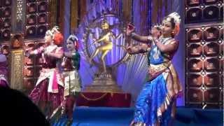 Sanjana Jogi's Performance @ 3rd Silicon Andhra Kuchipudi Naatya Sammelanam