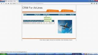 CRM for Airline Industry Java Project