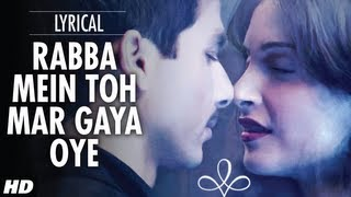 Rabba Mein Toh Mar Gaya Oye Lyrical Video | Mausam | Shahid kapoor ,Sonam Kapoor