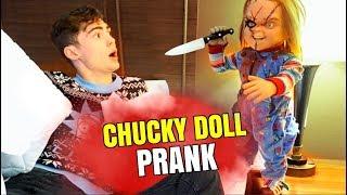 CHUCKY DOLL WAKE-UP SCARE PRANK ON MY BOYFRIEND!