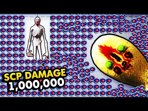 EVERY SCP vs 1 000 000 MINES