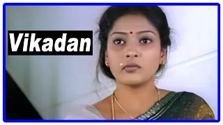 Vikadan Tamil Movie | Scenes | Gayathri Raghuram tries to escape from Harish Raghavendra's home