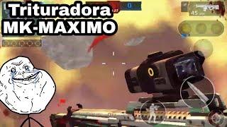Trituradora con Mira Lazer|MK MAXIMO-7|Modern Combat 5/Arody Sniper