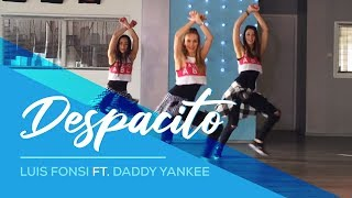 DESPACITO - Luis Fonsi ft Daddy Yankee -Easy Fitness Dance - Baile - Choreography Coreografia