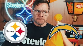 Dad Reacts to Steelers vs Refs & Chargers (Week 13)