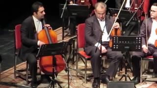 تکنوازی آواز دشتی با ویلنسل توسط کورش کشاورز - Kourosh Keshavarz plays iranian song with cello