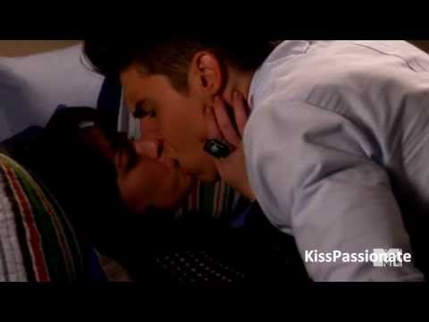 Jenna and Colin Hot Kiss Scene from Awkward. 3x14