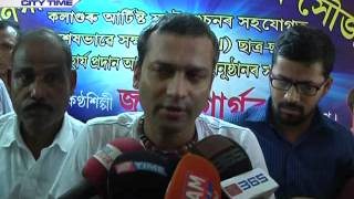 Pratidin Time Zubeen Garg helps physically challenged people