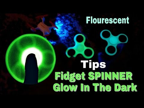 Tips FIDGET SPINNER biar nyala Glow In The Dark & flourescent