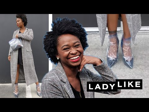 We Try The Rihanna Plastic Wrapped Shoes • Ladylike