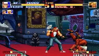 Tips vs Bosses Terry vs Rugal KOF 94