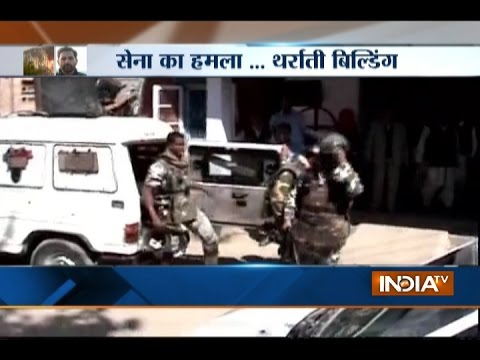 JnK: Grenade Attack on CRPF Convoy in Shopian, 2 Jawans Injured