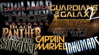 Marvel Announces Phase 3 Lineup: Black Panther, Captain Marvel & More!