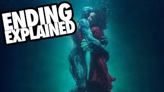 THE SHAPE OF WATER (2017) Ending Explained + Analysis