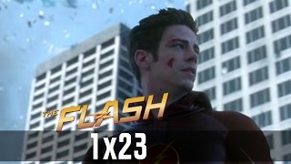 The Flash Season 1 Ending - The Flash tries to stop the singularity