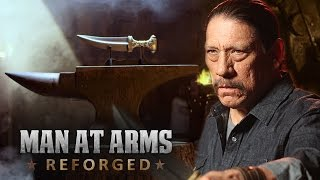 Jambiya Knife – Arabian Dagger  from Battlefield 1 - MAN AT ARMS feat. Danny Trejo
