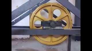 Puly cho thang máy | Khung sàn cho thang máy