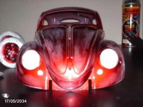 FUSCAPETAS club Mascote sonorizado maisto Herbie custom